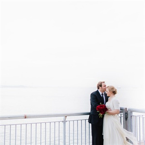 Waterfront Couple Shot