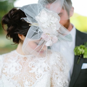Elegant Bridal Fascinator