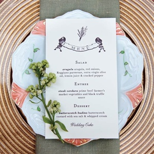 Vintage Placesetting
