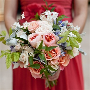 Whimsical Garden Bridesmaid Bouquets