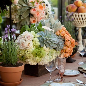 Floral and Fruit Centerpieces