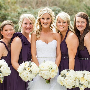 Jenny Yoo Eggplant Bridesmaid Dresses
