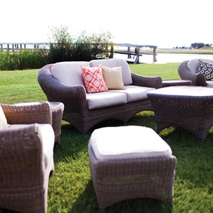 Casual Wicker Lounge Furniture