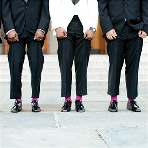 Pink Polo Mens Socks