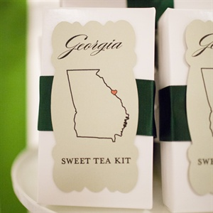 DIY Sweet Tea Favor