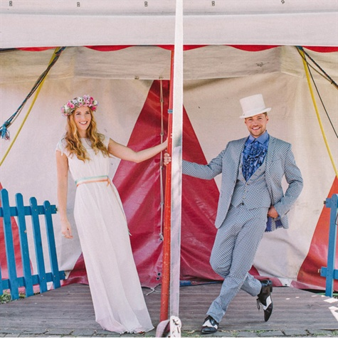 Circus Inspired Wedding Style
