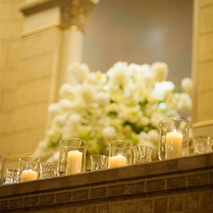 Ambient Candlelight Ceremony Decor