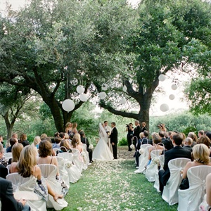 The Four Seasons Outdoor Wedding Ceremony