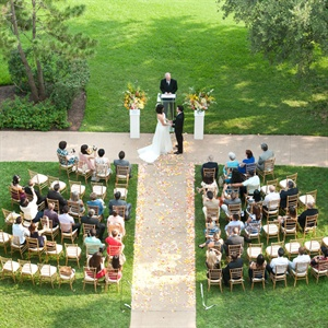 Outdoor Wedding Ceremony at Four Seasons