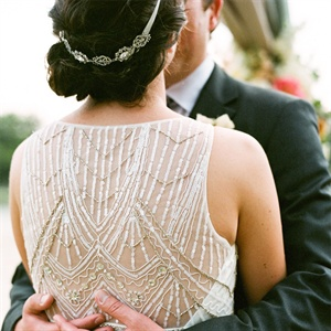 Beaded Vintage Wedding Dress