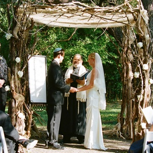 Rustic Tree Branch Huppah