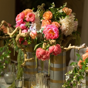Garden Inspired Floral Arrangements