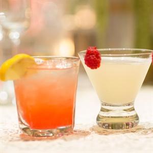 Colorful Signature Cocktails