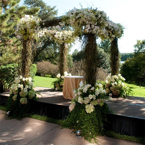 Floral and Branch Huppah