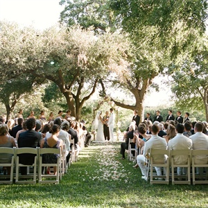 Four Seasons Austin Outdoor Wedding Ceremony