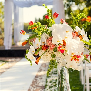 Ceremony Aisle Decor