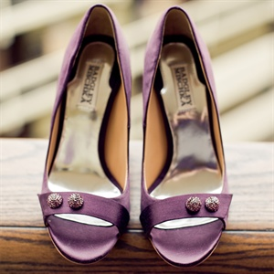 Light Purple Badgley Mischka Bridal Shoes