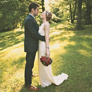 Sophisticated J. Crew Wedding Gown