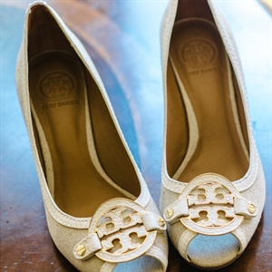 Tory Burch Peep-Toe Shoes