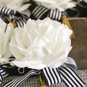 White Composite Bridesmaid Bouquet
