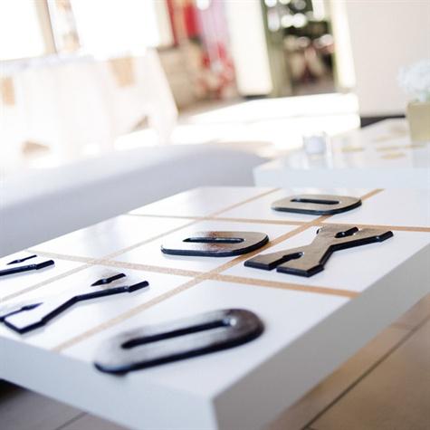 Tic Tac Toe Reception Table
