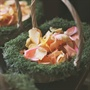 Mossy Flower Girl Baskets