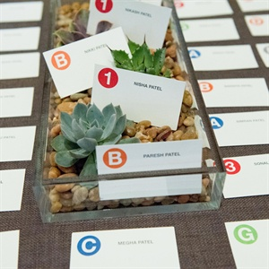Subway Symbol Escort Cards