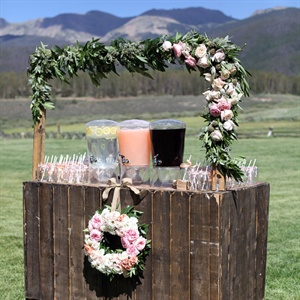 Ceremony Refreshment Station