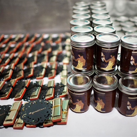 Homemade BBQ Sauce Favors