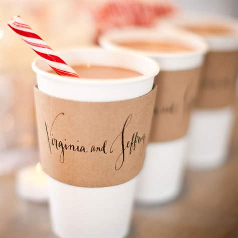 Custom Coffee Sleeves