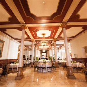 The Driskill Hotel Ballroom Reception Site