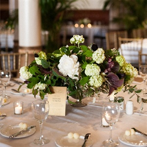 Natural Garden Inspired Centerpieces