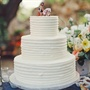 Simple Three-Tiered White Cake