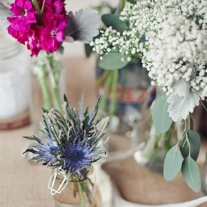 Natural Floral Centerpieces