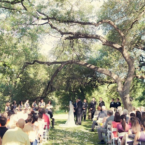 Outdoor Wedding at Cathedral Oaks