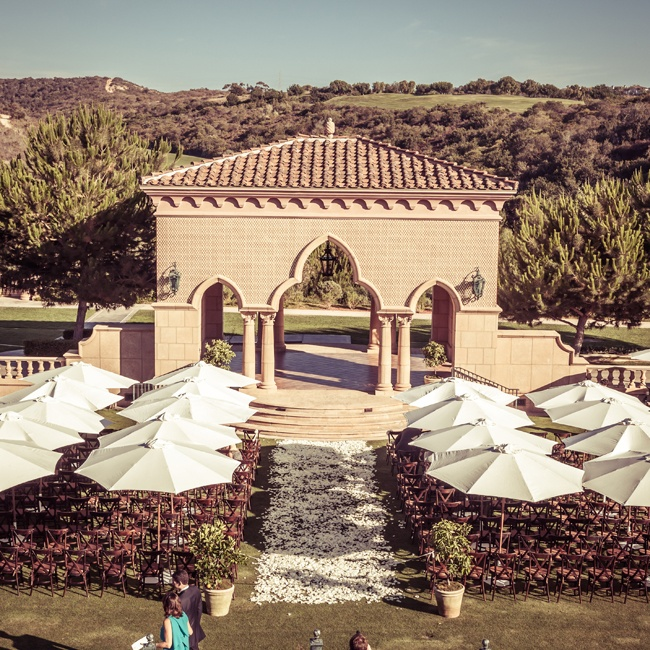 A Luxe Outdoor Wedding in San Diego, CA