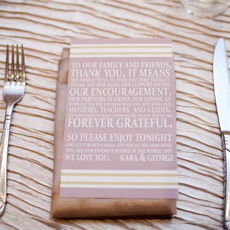 Place Setting Thank You Cards