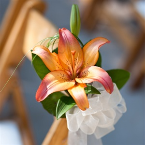 Tiger Lily Ceremony Decor