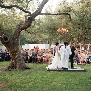 Lighted Outdoor Ceremony