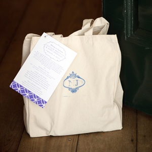 Canvas Welcome Bag