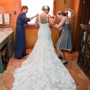 Lace Bridal Train