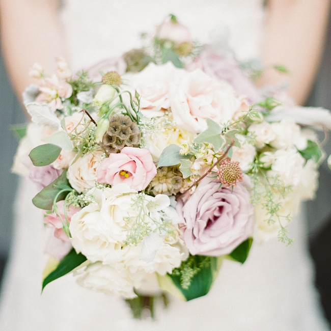 Pastel Wedding Flowers: Pastel Bridal Bouquet