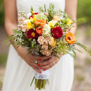 Garden Inspired Bouquet