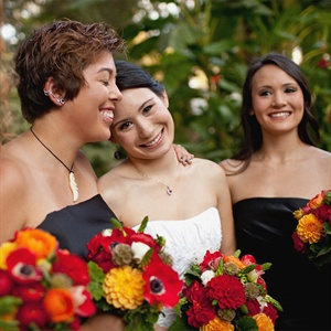 Rich Vibrant Floral Bouquets