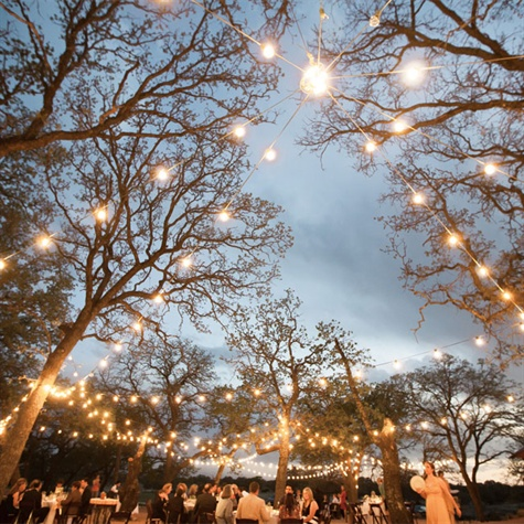 Strung Lights Decor