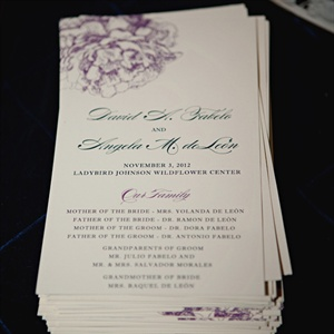 Purple Floral Designed Programs