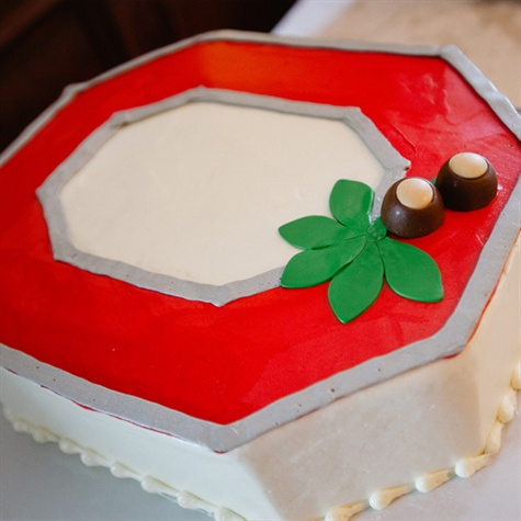 Ohio State Groom's Cake
