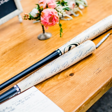 Baseball Bat Guest Books
