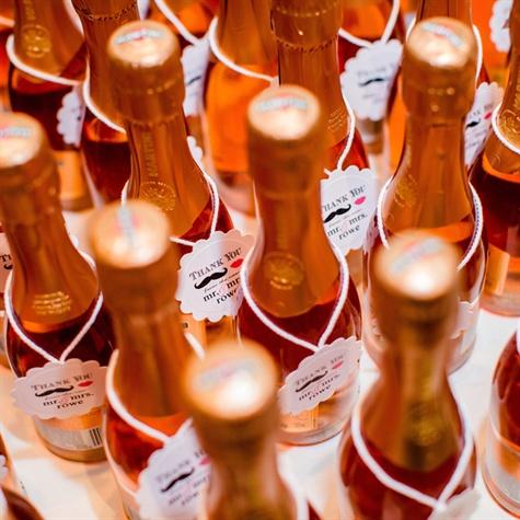 Mini Champagne Favors