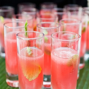 Pink Reception Cocktails